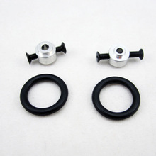 5pcs/Lot 3MM 3 MM 3.17mm 3.17 MM 4mm 4 MM RC Prop Propeller Protector Saver include Rubber band O-Ring O ring