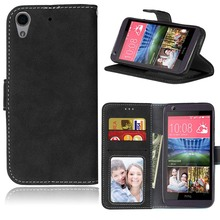 New Designed Flip Leather Silicone Magnetic Stand Function Wallet Cellphone Card Holder Soft Case Cover For HTC Desire 626/626w