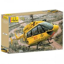 Out of print! Eurocopter EC 145 ADAC helicopter (1/72 model kit, Heller 80377)