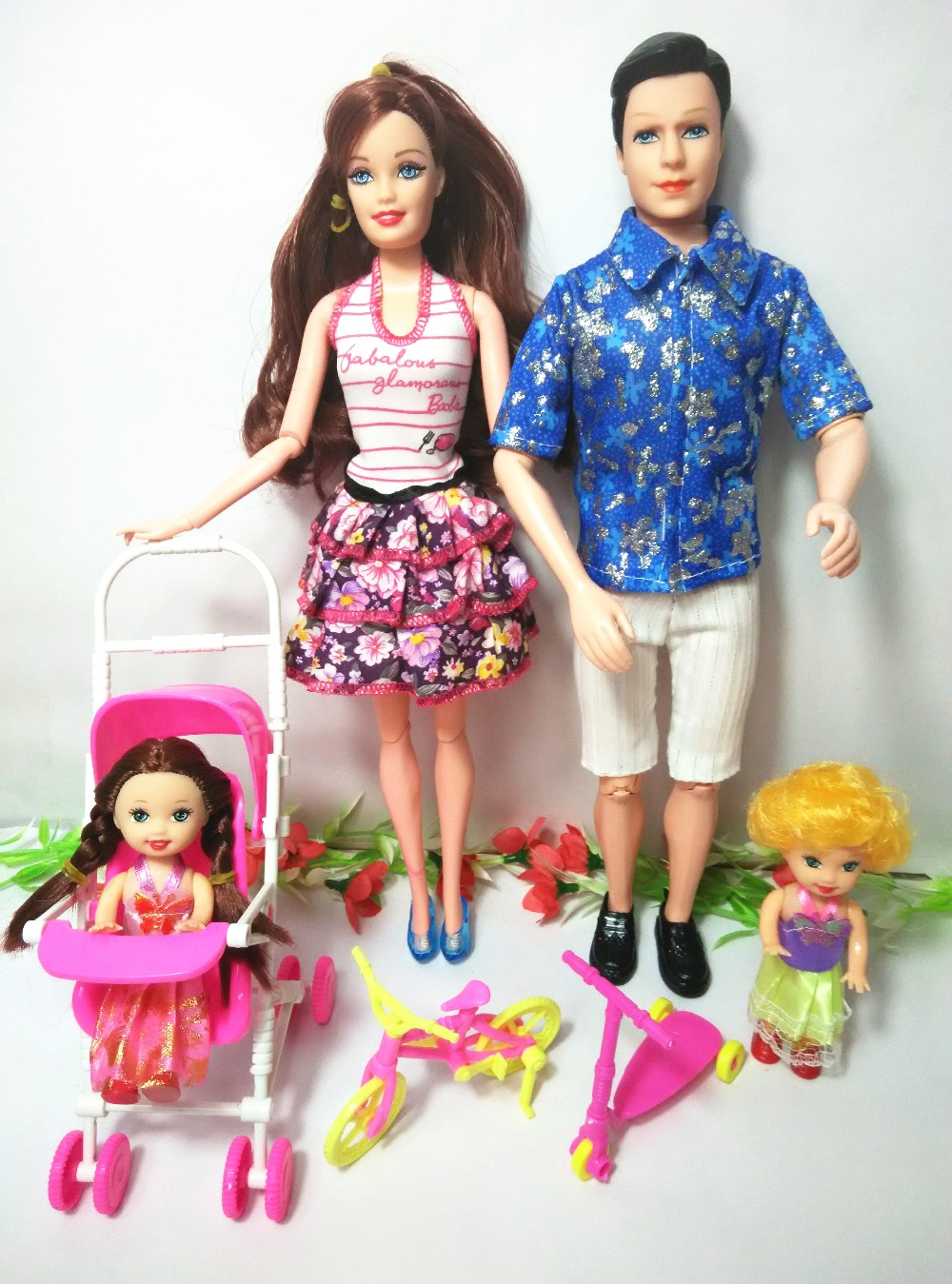 (Trend Doll + bag + Toy umbrella) Dolls Mannequin Fashion Moveable Joint Physique Traditional Toys Finest Present Equipment For Barbie,YF-02