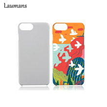 Laumans 5pcs 3D Painting Case for iphone 7 Glossy Frosted Blank Sublimation Cover Shell For Iphone 7 Heat Transfer Painted Cases