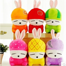 25cm Cute Mashimaro Plush Toy Stuffed Fruits Rabbit Plush Toy Wedding Dolls Birthday Gift Children's Love Toy
