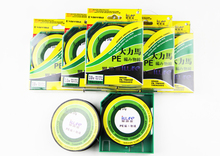 Free Shipping Brand 4 Strand Grey Fishing line 100m 6# 0.4mm 36.5KG Braided Fishing Line Spectra(China)