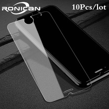 10 Pcs Tempered Glass for iPhone 7 Plus 6 6s 5 5s 5c 4 4s 9H 2.5D 0.3 mm Explosion Proof screen protector Film for iphone 6 Plus