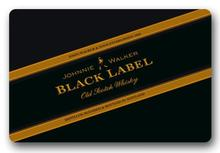 Custom Doormat Johnnie Walker Black Label Door Mat Johnnie Walker Rugs Bathroom Carpet Kids Rome Cushion #D-257#(China)