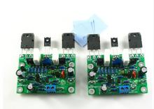 DIY 2pcs NAIM NAP250 MOD Stereo Dual channel Power amplifier board RMS 80W 8R For Speakers(China)
