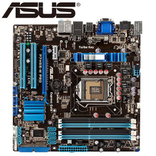 Asus P7H55-M Pro Desktop Motherboard H55 Socket LGA 1156 i3 i5 i7 DDR3 16G ATX UEFI BIOS Original Used Mainboard Hot Sale(China)