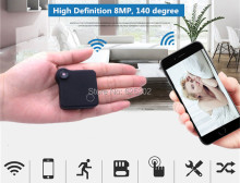 Super Mini in-Hand Wifi IP Camera Recoder Build-in Lithium Battery Support TF Card Storage(China)