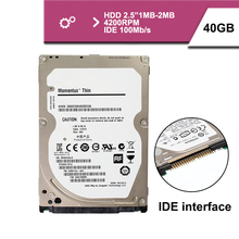 "Brand Sealed 2.5 ""40GB IDE 100MB/s notebook hdd hard disk drive 1mb 4200rpm"