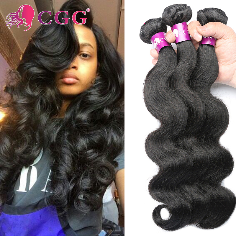 7A Indian Virgin Hair Body Wave 4Pcs/Lot Raw Indian Hair Bundles 100% Human Hair Weaving Virgin Indian Hair Extensions Body Wave<br><br>Aliexpress