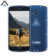 Original AGM X1 cell phone 64GB ROM 4GB RAM Octa Core 5.5 inch mobile phone 5400 mAh Android 5.1 2 back cameras FHD smart phone