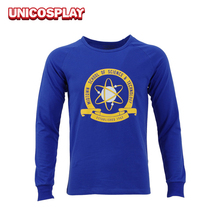 2017 Spider-Man Homecoming Peter Parker Shirt Cosplay Halloween Costume Spiderman Blue Long Sleeve Colleague Sweater Man Top Tee
