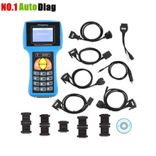 Professional Universal Car Key Programmer T300 Newest V16.08 T300 Auto Transponder Key Decoder T-CODE T300 English or Spanish(China)