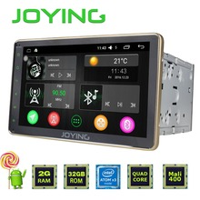 "JOYING Gold 2GB+32GB Android 5.1 Universal Double 2 DIN 8"" Car Radio Stereo Quad Core Head Unit Support PIP OBD DVR Blue Panel"