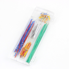 Smart Electronics 140 Pcs U Shape Solderless Breadboard Jumper Cable Wire Kit for arduino DIY KIT