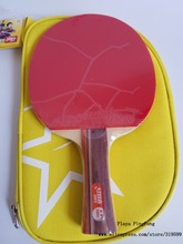 Original DHS 2002 / 2006 table tennis rackets 2 stars with pimples in table tennis rubber finished rackets ping pong paddles(China)