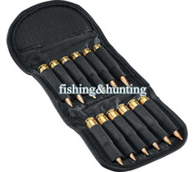 FACAILU hunting 12 bullets pouch Hunting Bullet Holder 12 Round Shell Rifle Cartridge Carrier Folding Rifle Ammo Bag(China)