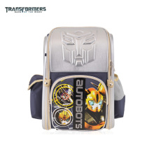 TRANSFORMERS cartoon safety orthopedic school bag books bag shoulder backpack portfolio for boys Grade 1-3