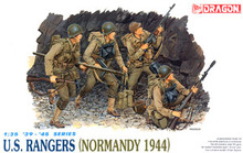 1/35 scale model Dragon 6021 American Rangers (Norman 1944)(China)