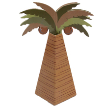 10Pcs/lot Folding DIY Coconut Tree wedding candy box wedding favors and gifts Boxes for Wedding Decoration Ideas YL678683