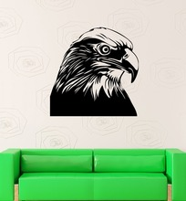 Wall Decal Bird Hawk Falcon Eagle Beak Predator Nature Vinyl Stickers