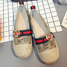 Big Size 35-40 Luxury Brand Style Design Striped g Letters Patch Easy Wear  Slip bbd9b07490f2