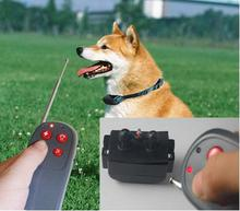 Dog Trainer Waterproof Rechargeable Remote Anti-bark Pet Dog Training Collar 4 IN 1 Electric Shock Large Dog Control