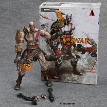 SQUARE ENIX PlayArts KAI God of War Kratos PVC Action Figure Collectible Model Toy 22cm MVFG358