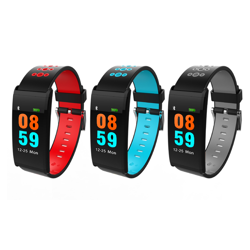 Smart Band Arc Touch Screen Fitness Bracelet Waterproof Sports Health Watch Heart Rate Monitor Blood Pressure Pedometer Tracker