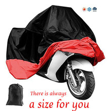 HOT Motorcycle Cover Waterproof Outdoor UV Rain Dust Cover XXXL Fit to Honda Victory Kawasaki Yamaha Suzuki Scooter couvre moto