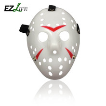 New 2017 Halloween Mask Jason Voorhees Friday The 13th Horror Movie Hockey Mask Halloween Party Cosplay Scary Mask CT0247(China)