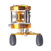 2+1BB Ball Bearings Right Hand Fishing Reels Full Metal Body Drum Fishing Wheel Boat Sea Reels Fishing Tackle Pesca(China)