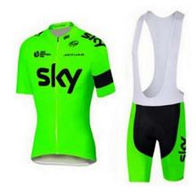 Buy 2017 Men's Cycling Jersey MTB Bike Clothing SKY Team Cycling Clothing Ropa Ciclismo Jerseys PRO Bicycle Wear Bike Clothes Sets for $21.51 in AliExpress store