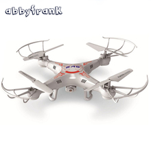 Abbyfrank RC Drone Helicopter X5C 0.3M Camera 360-Eversion 2.4G Remote Control 4 CH 6 Axis Gyro Quadcopter Outdoor Flying Toys(China)