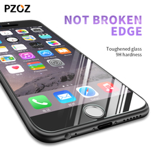 Pzoz tempered full cover screen protector for iphone 6 glass for iphone 6/6 plus film 9h color 3D Anti Blue Light for iphone6 s