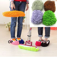 Details about 1pc Mop Slippers Floor Polishing Cover lazy Dusting House Cleaner Foot Shoes