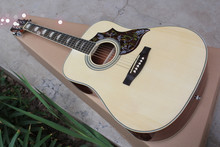 2016 New + Factory + custom Chibson hummingbird acoustic guitar spruce top hummingbird electric acoustic guitar free shipping(China)