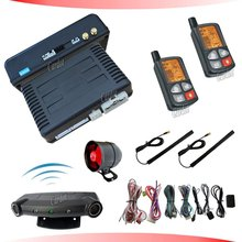 two way PKE car alarm  with ultrasonic sensor ,Built in Start module,hopping code design, CD-T179