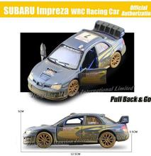 1:36 Scale Antique Finishing Alloy Diecast Metal Car Model For SUBARU Impreza WRC Racing Car Collection Model Pull Back Toys Car