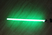 New Star Wars Force Force Sword Yoda Master Green Light Sword Plastic Material Handle Illuminated with sound