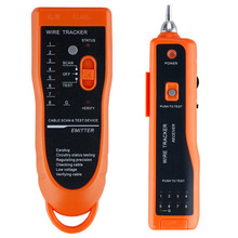 Network LAN Phone Telephone Cable Toner Wire Tracker Tester for RJ45 and RJ11