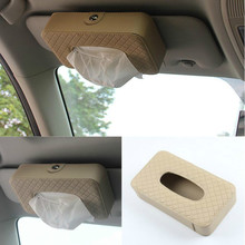 Buy Car Sun Visor Type Tissue Box Renault Megane 2 3 Duster Logan Clio 4 3 Laguna 2 Sandero Scenic 2 Captur Fluence Kangoo for $16.20 in AliExpress store