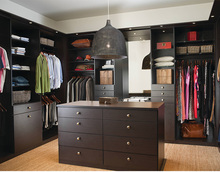 modern wardrobe customized walk-in closet(China)