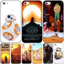 Star Wars The Force Awakens BB-8 Droid cell phone Cover case for iphone 6 4 4s 5 5s SE 5c 6 6s 7 plus case for iphone 7