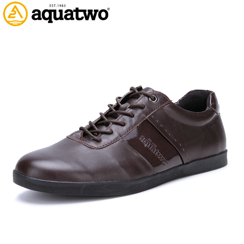 AQUATWO 2016 New Design High Quality Men Breathable Shoes US6-10# Fashion Oxford Style Mens Leather  Fashion Brand Mens Shoes<br><br>Aliexpress