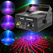 SUNY Multiple Pattern Laser LED Stage Lighting Colorful Home Decoration Party Professional Projector illumination DJ Disco Club