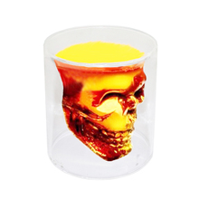 Cool glass cup Special Transparent Crystal Skull Head Shot Glass Cup For Whiskey Wine Vodka Home Drinking Ware Creative Gifts