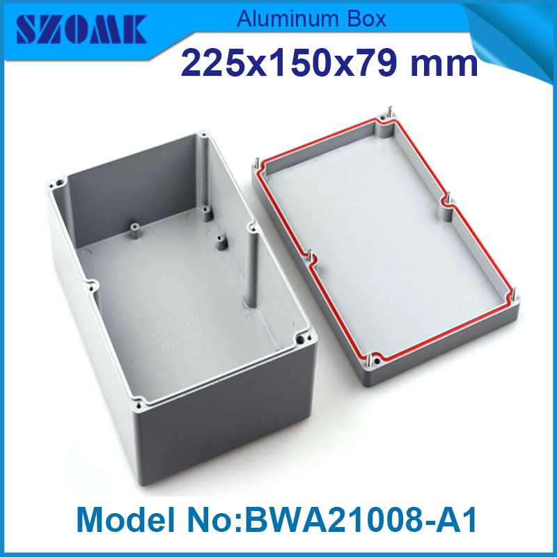 4 pieces electronic tools and instruments diy aluminum waterproof container 79(H)x150(W)x225(L) mm<br><br>Aliexpress