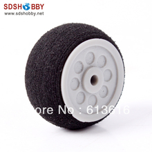 Small Sponge Wheel D20*H11*d2mm for Air Retract Landing Gear