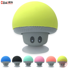 Bluetooth Speaker Mini Mushroom Wireless Portable Phone Handsfree Microphone Sound Home Outdoor Cartoon Music Stereo Player